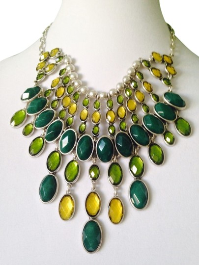 Preload https://img-static.tradesy.com/item/2321234/lucky-brand-shades-of-greensilver-necklace-only-additional-matching-pieces-sold-seperately-0-0-540-540.jpg