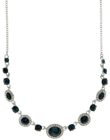 Preload https://img-static.tradesy.com/item/23212411/givenchy-silver-blue-marine-swaroviski-rounded-crystal-and-pave-collar-necklace-0-3-540-540.jpg