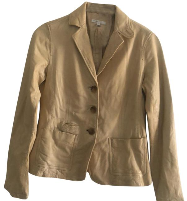 Preload https://img-static.tradesy.com/item/23212446/vince-beige-leather-jacket-size-4-s-0-1-650-650.jpg