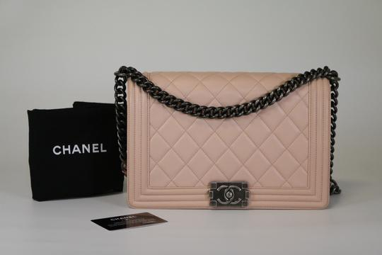 Chanel New Medium Lambskin Boy Boy Shoulder Bag