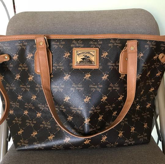 Beverly Hills Polo Club Tote in Brown