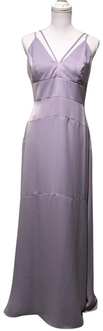 Preload https://img-static.tradesy.com/item/23212670/nicole-miller-light-purple-spaghetti-straps-v-neck-long-formal-dress-size-8-m-0-2-650-650.jpg