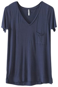 Gap Drape Add-on T Shirt Navy
