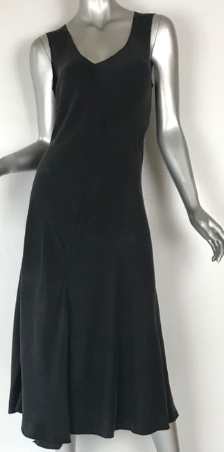 black Maxi Dress by gosilk