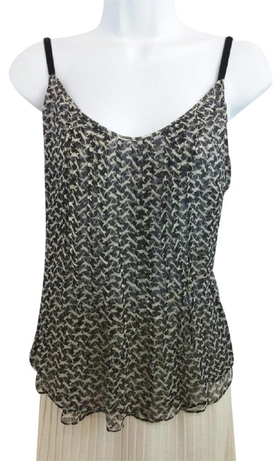 Preload https://img-static.tradesy.com/item/23212780/alessandro-dell-acqua-made-in-italy-black-and-creme-silk-blouse-size-6-s-0-1-650-650.jpg