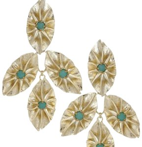 Kendra Scott Kendra Scott Vintage Statement Abbott Green Earrings
