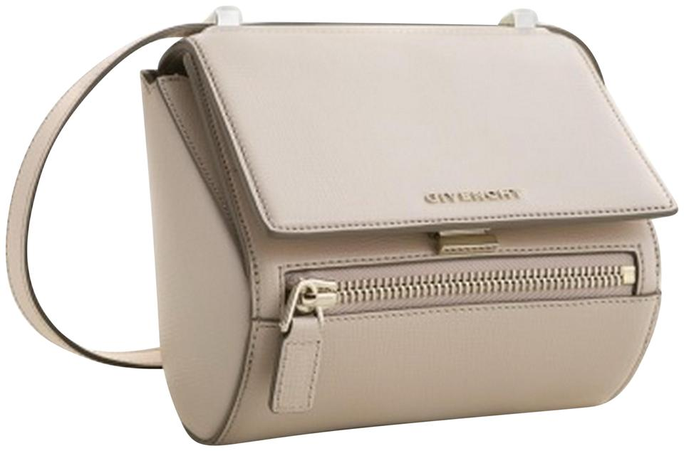 fa874ac30fc Givenchy Box Pandora Mini Nude Leather Cross Body Bag - Tradesy