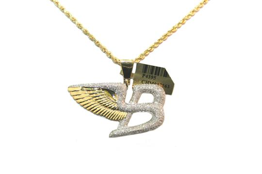 Preload https://img-static.tradesy.com/item/23212851/diamond-10k-yellow-gold-rope-chain-with-bentley-flying-pendant-charm-necklace-0-0-540-540.jpg