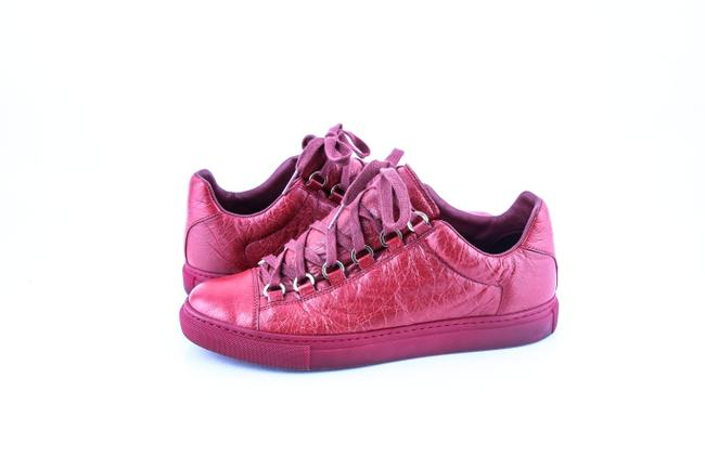 Item - Red High Sneakers Low Boots/Booties Size US 7.5 Regular (M, B)