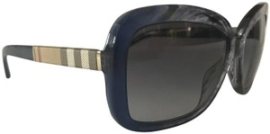 Burberry Like new newer worn Burberry sunglasses BE 4173 3613/8G Blue with Grey