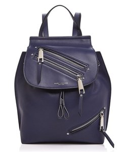 Marc Jacobs Zip Pack Adjustable Straps Midnight Backpack