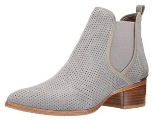 Donald J. Pliner Gray Oily Suede Boots