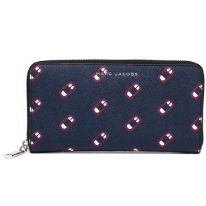 Marc Jacobs M0012628 MONOGRAM SCREAM STANDARD CONTINENTAL WALLET