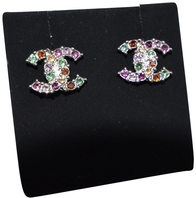 Item - Multicolor Lightgold Rainbow Crystals New 2017 Fall Earrings
