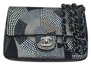 Chanel Swarovski Flapbag Cross Body Bag