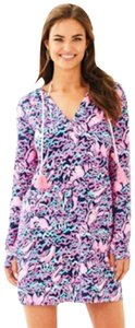 Lilly Pulitzer Lilly Pulitzer Riley Hooded Cover-Up Dress