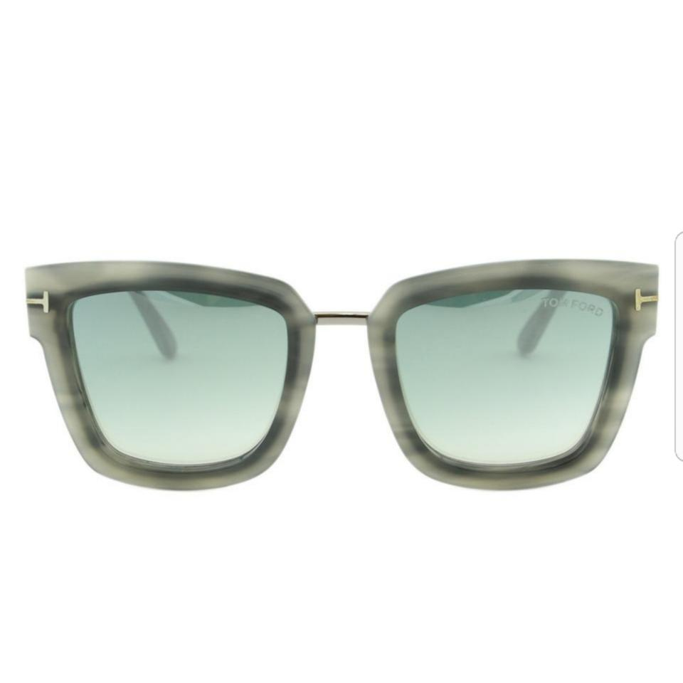 ddd908c35d Tom Ford Havana Gray Lara -02 Ft0573 55x Sunglasses - Tradesy