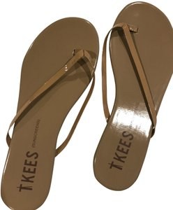 8be6574f50eb TKEES Patent Nude sunscreens Sandals