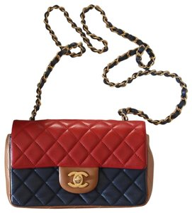 Chanel Flap Limited Edition Leather Cross Body Bag