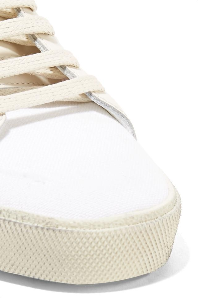 Sneakers Off Classic white Court Canvas Laurent Saint Sneakers 0gFBnq8wT