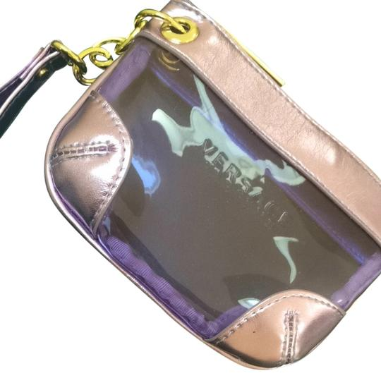 Versace Purple/ Purple Metallic Clutch
