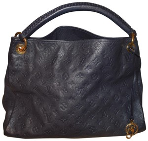 Louis Vuitton Leather Monogram Empreinte Artsy Hobo Bag