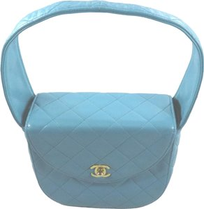 Chanel Satchel in turquoise