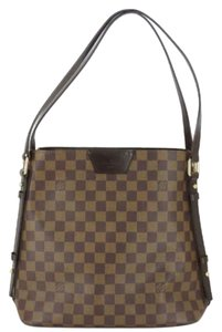 979ee6707a59 Louis Vuitton Bags Shoulder Damier Canvas Rivington Cabas Tote in Brown