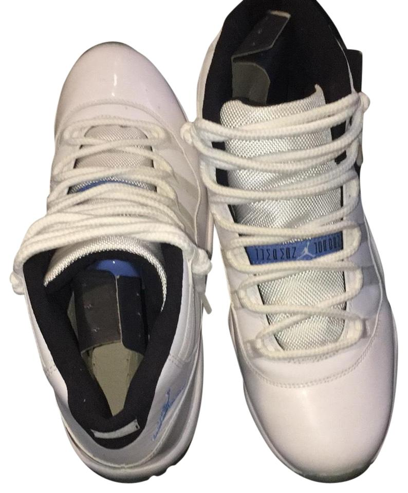 bbc648859bf4 Air Jordan White 11 Columbia Sneakers Size US 8 Regular (M
