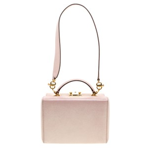 Mark Cross Shimmering Leather Small Grace Shoulder Bag