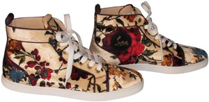 Christian Louboutin Orlato Flat Sneaker Red Sole Multicolor Athletic