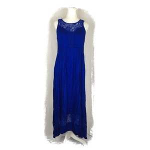 Cobalt Blue Maxi Dress by Black Rainn