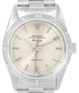 Rolex Rolex Air King 34mm Silver Dial Stainless Steel Mens Watch 14010