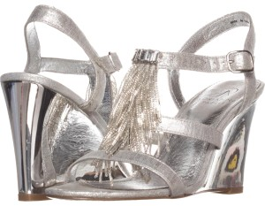 Adrianna Papell Silver Sandals