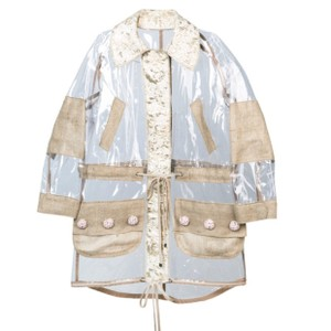 Dolce&Gabbana Clear/Oatmeal/Gold Jacket