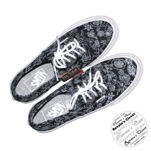 Vans Black Chambray/Retro Floral Athletic