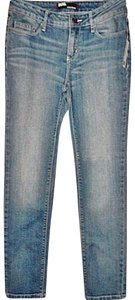 BDG Urban Outfitters Kelly Stretch Ankle Length Skinny Jeans-Light Wash