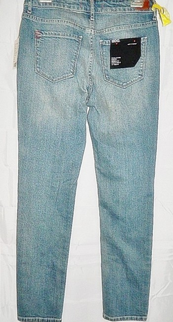 BDG Urban Outfitters Kelly Stretch Ankle Length Skinny Jeans-Light Wash Image 1