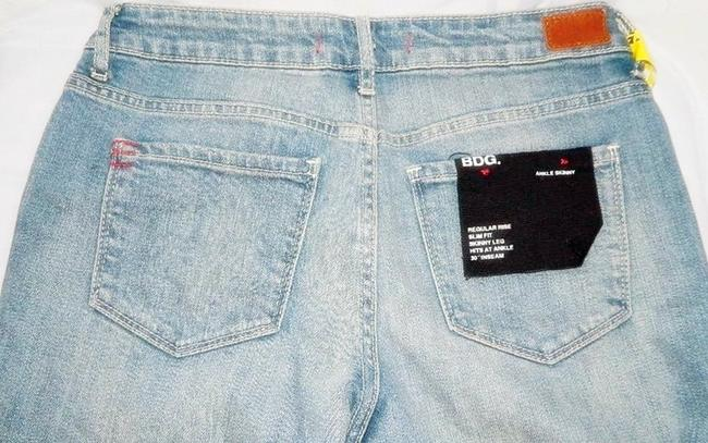 BDG Urban Outfitters Kelly Stretch Ankle Length Skinny Jeans-Light Wash Image 3