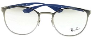 Ray-Ban RX6355-2538 Liteforce Unisex Silver Frame Clear Lens Eyeglasses