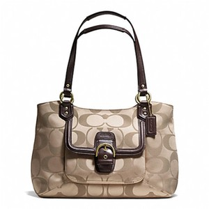 Coach Signature Campbell Carryall Shoulder Bag