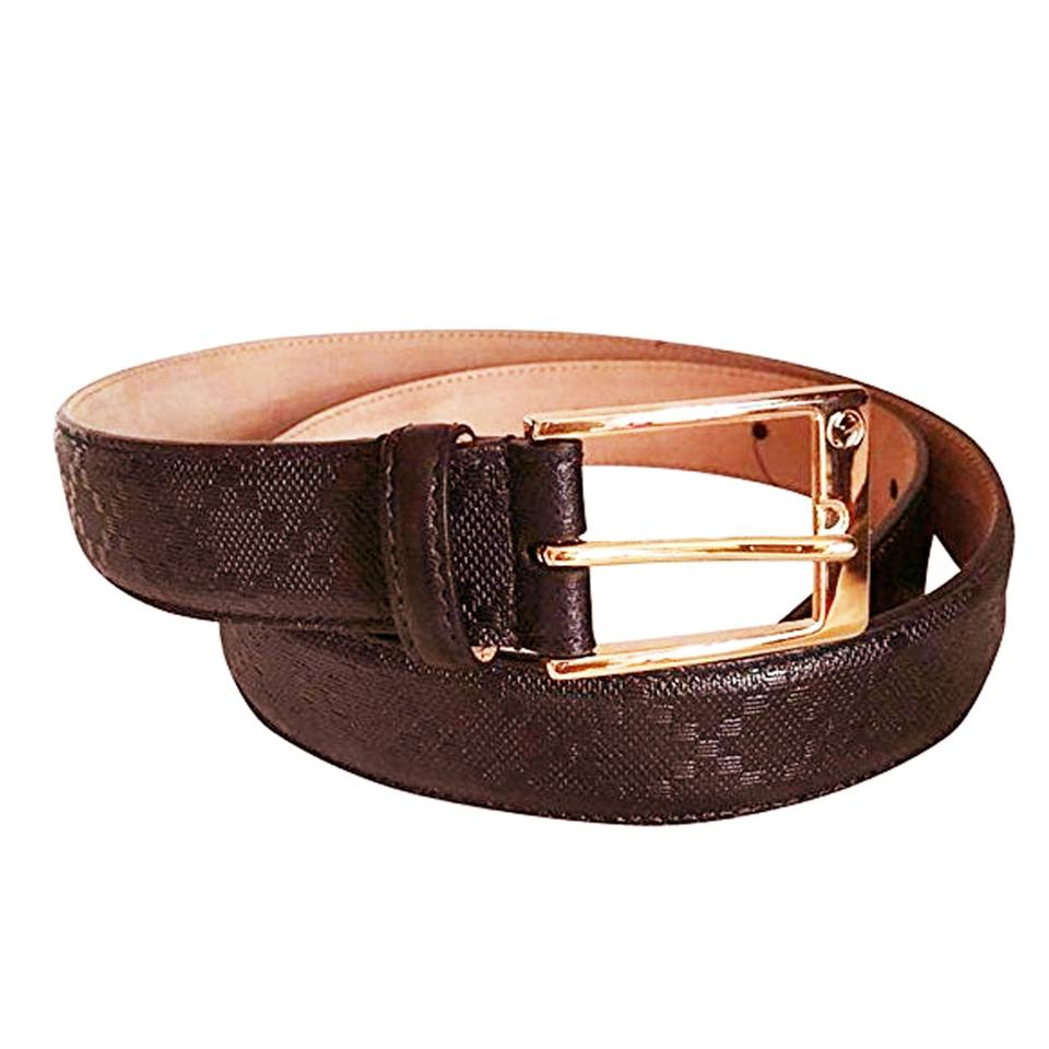 9a0e213207b Gucci Cuoio Toscano Snake Gg Belt Neiman Marcus. Gucci Brown Diamante With  Gold Square Buckle Size 115 46 34 Belt