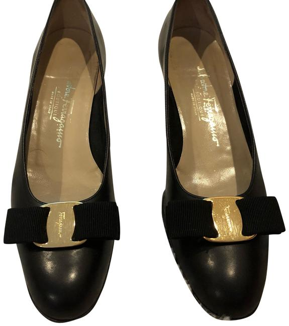 Item - Black and Gold 3db 65354 338 Flats Size EU 36.5 (Approx. US 6.5) Narrow (Aa, N)