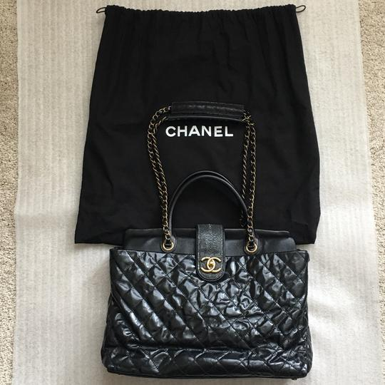 Chanel Classic Exotic Large Tote in Black Image 1