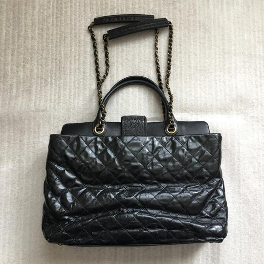 Chanel Classic Exotic Large Tote in Black Image 3