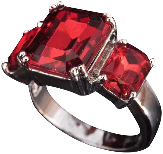 Preload https://img-static.tradesy.com/item/23218992/red-and-silver-new-3-stone-zircon-white-gold-filled-ring-0-1-540-540.jpg