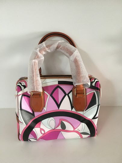 Emilio Pucci Pastel Hand Tote in Pink