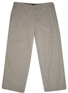 Eddie Bauer Vashion Fit Capri/Cropped Pants Khaki
