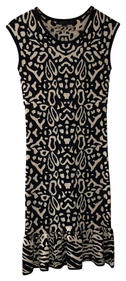 Felicity Coco Black And White Nordstrom Mid Length Formal Dress
