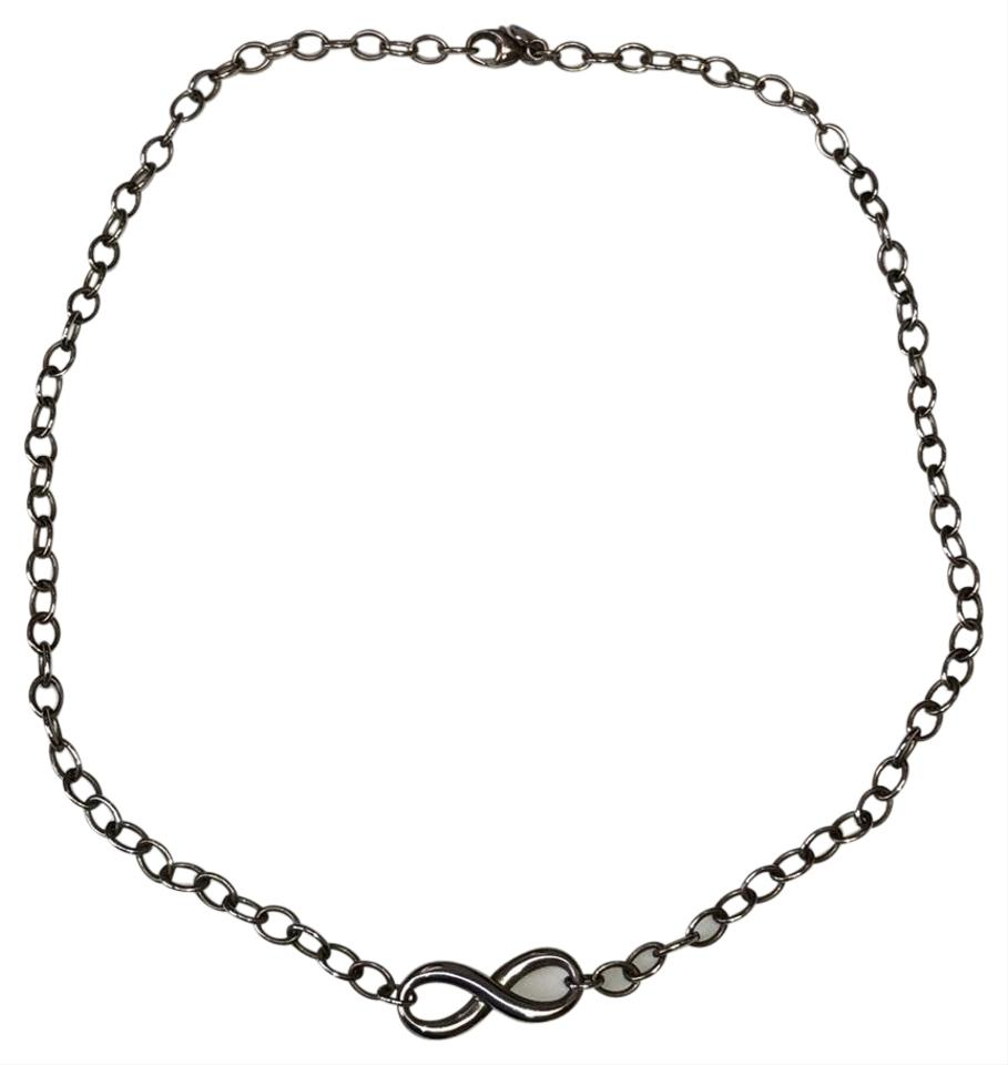 42f7f2e65 Tiffany & Co. Sterling Silver 925 Infinity Necklace - Tradesy